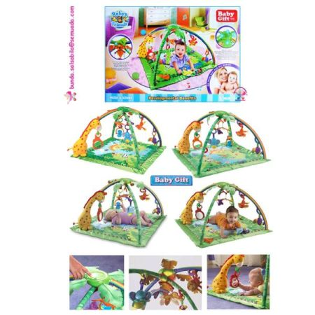 JUAL BABY GIFT - RAIN FOREST BIG | BABY PLAYGIM AND PLAYMAT | PLAYGIM