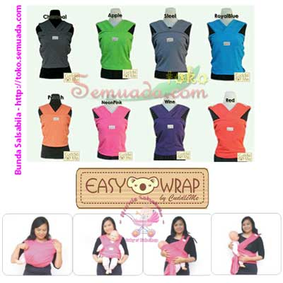 Jual Gendongan Cuddleme Baby Wrap Polos Made In Indonesia Di