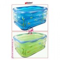 JUAL MURAH INTIME BABY POOL RECTANGLE (BLUE, GREEN) +NECKRING | TOKO SEMUADA | BUNDA SALSABILA