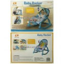 JUAL MURAH BOUNCER POLO BABY ROCKER - NEWBORN TO TODDLER PORTABLE ROCKER (BLUE) | TOKO SEMUADA | BUNDA SALSABILA