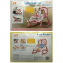 JUAL MURAH BOUNCER POLO BABY ROCKER - NEWBORN TO TODDLER PORTABLE ROCKER (PINK) | TOKO SEMUADA | BUNDA SALSABILA