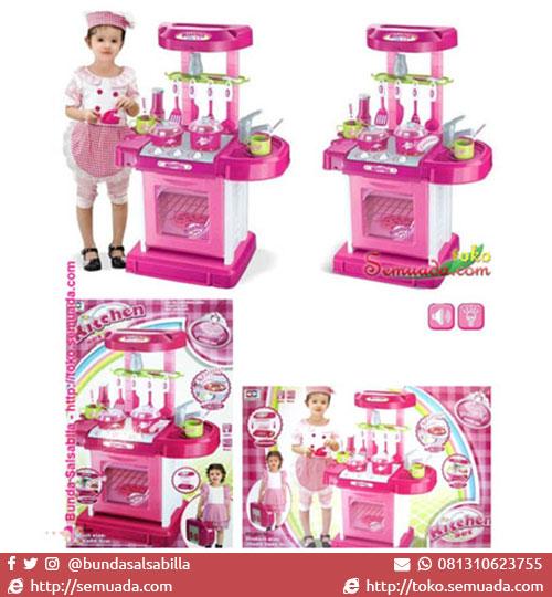 Jual murah mainan anak kitchen set tas pink toko for Beli kitchen set jadi