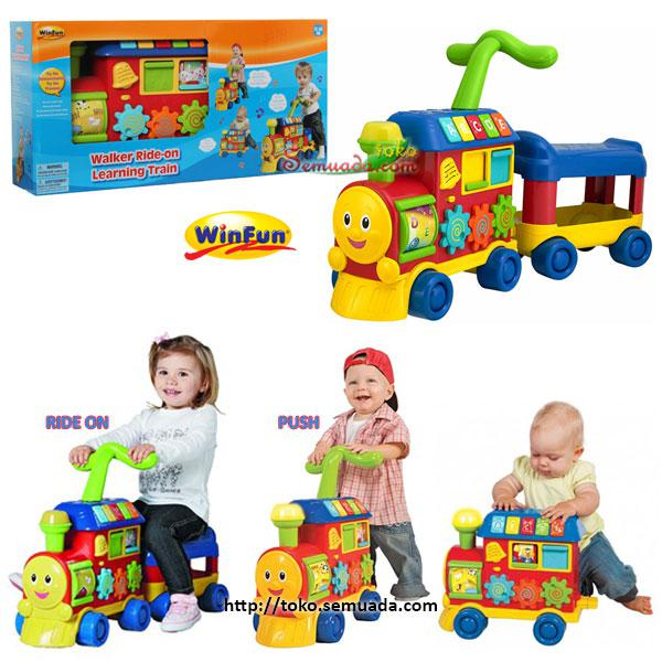 JUAL MURAH WINFUN WALKER RIDE ON LEARNING TRAIN | TOKO SEMUADA | BUNDA SALSABILA